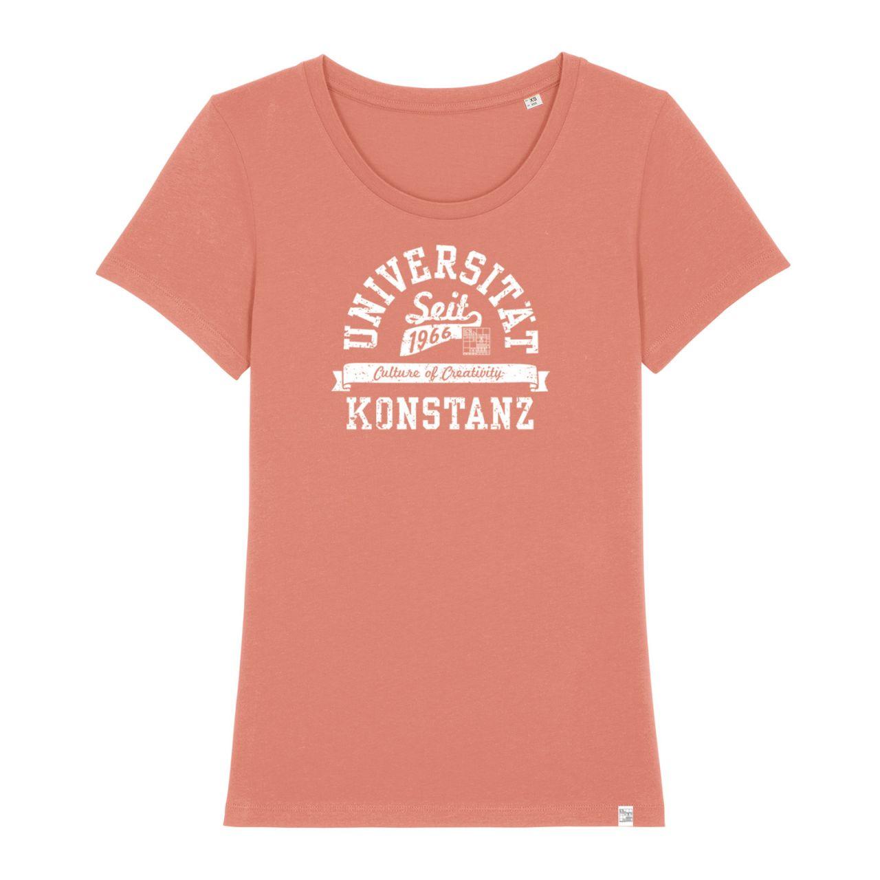 Damen Organic T-Shirt, rose, berkley